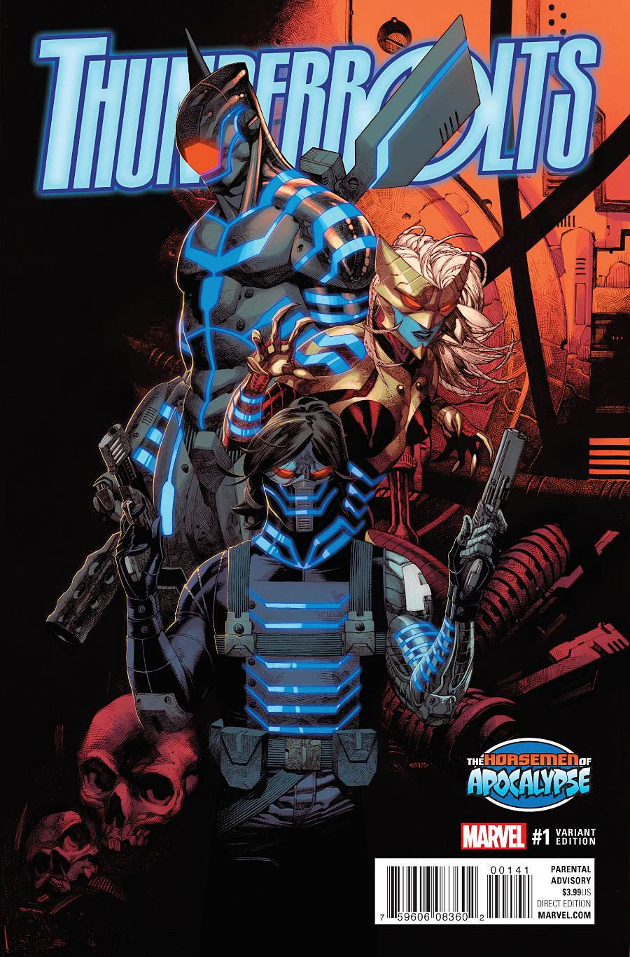 Thunderbolts Vol 3 #1 Cover D Variant Age Of Apocalypse Cover