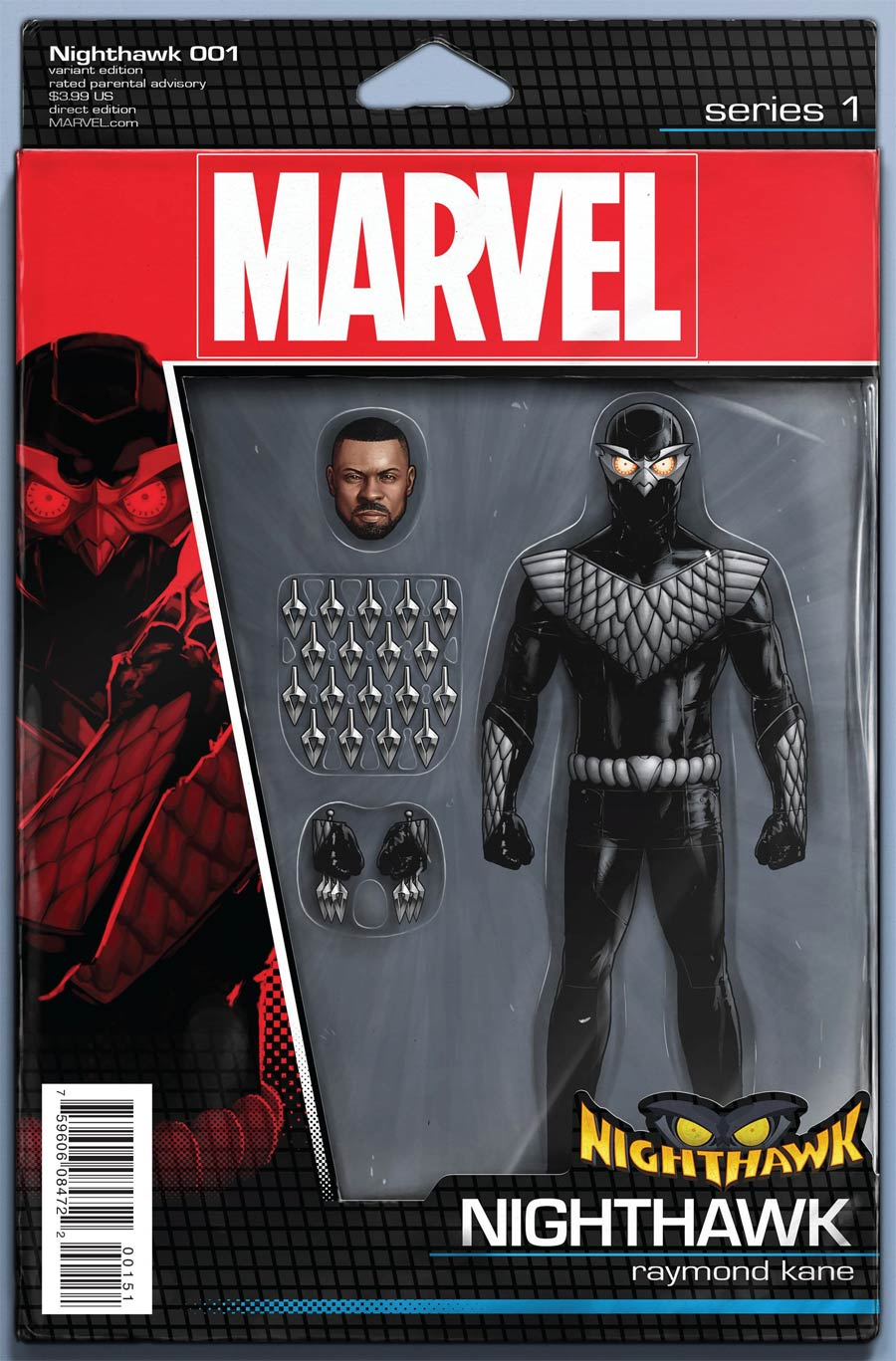 E IS FOR EXTINCTION 1 CHRISTOPHER ACTION FIGURE VARIANT SECRET WARS TIE IN