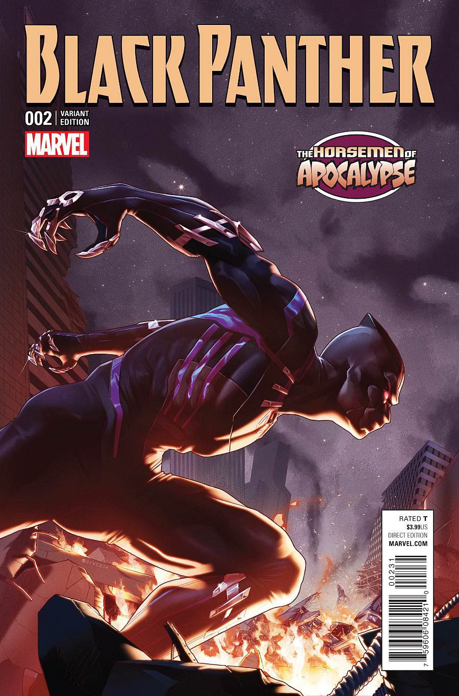 Black Panther Vol 6 #2 Cover C Variant Age Of Apocalypse Cover