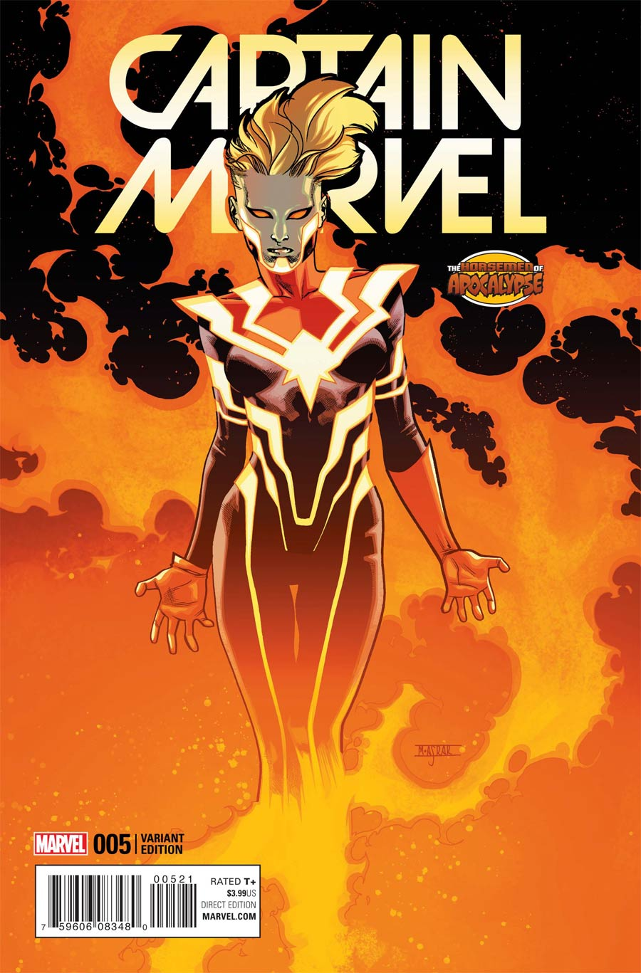 Captain Marvel Vol 8 #5 Cover B Variant Age Of Apocalypse Cover