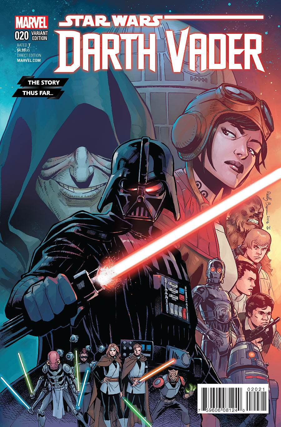 Darth Vader #20 Cover C Variant Story Thus Far Cover