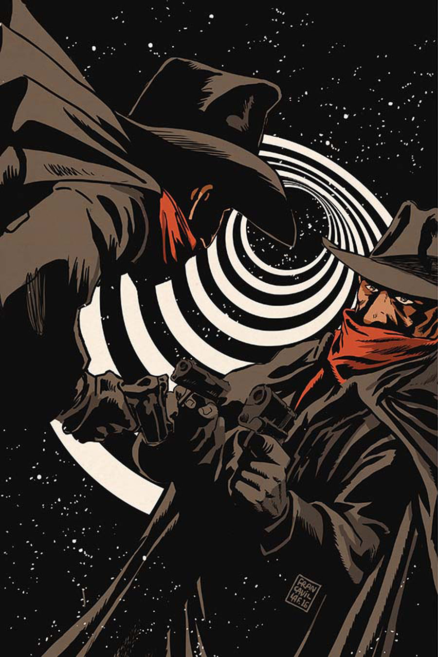 Twilight Zone Shadow #2 Cover B Incentive Francesco Francavilla Virgin Cover