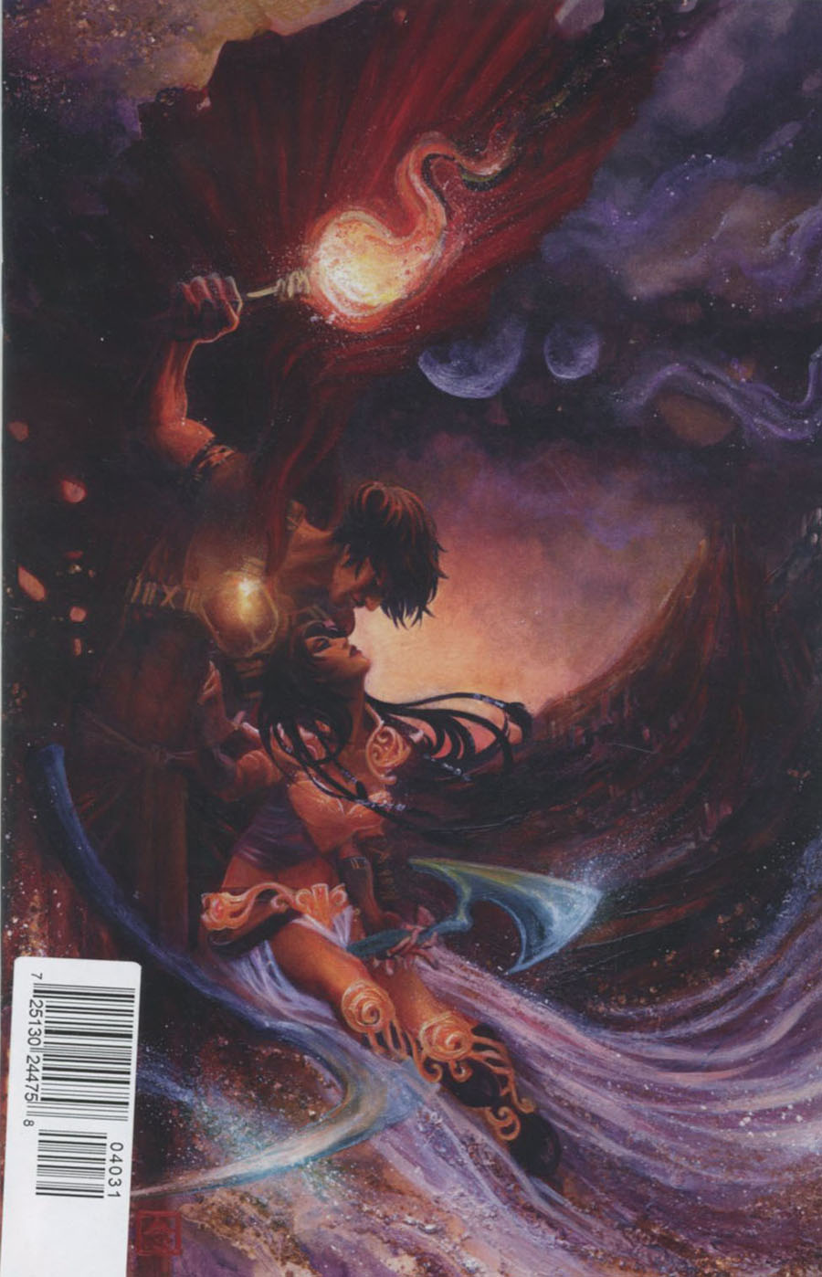 Dejah Thoris #4 Cover C Rare NEN Virgin Cover