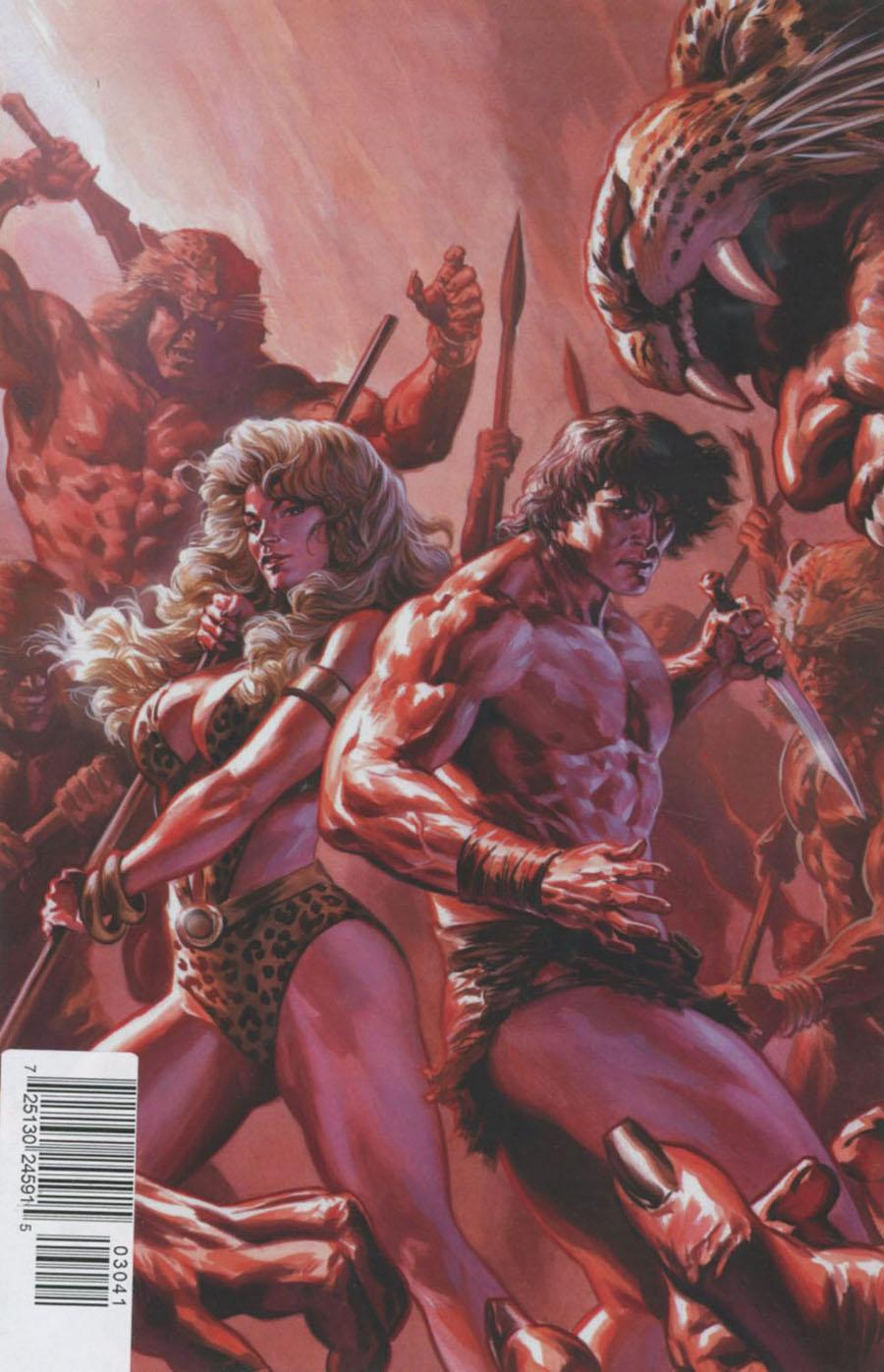Lords Of The Jungle #3 Cover D Rare Felipe Massafera Virgin Cover