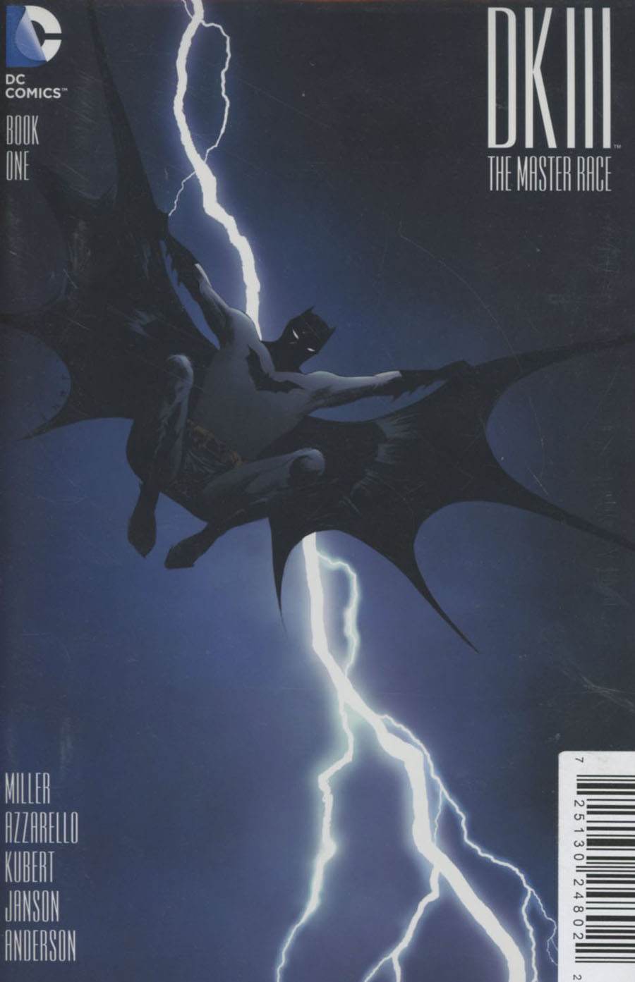 Dark Knight III The Master Race #1 Cover Z-T DF Exclusive Ultra-Limited Jill Thompson Variant Cover Plus