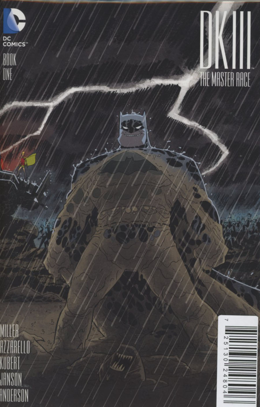 Dark Knight III The Master Race #1 Cover Z-V DF Graham Crackers Exclusive Darwyn Cooke Variant Cover