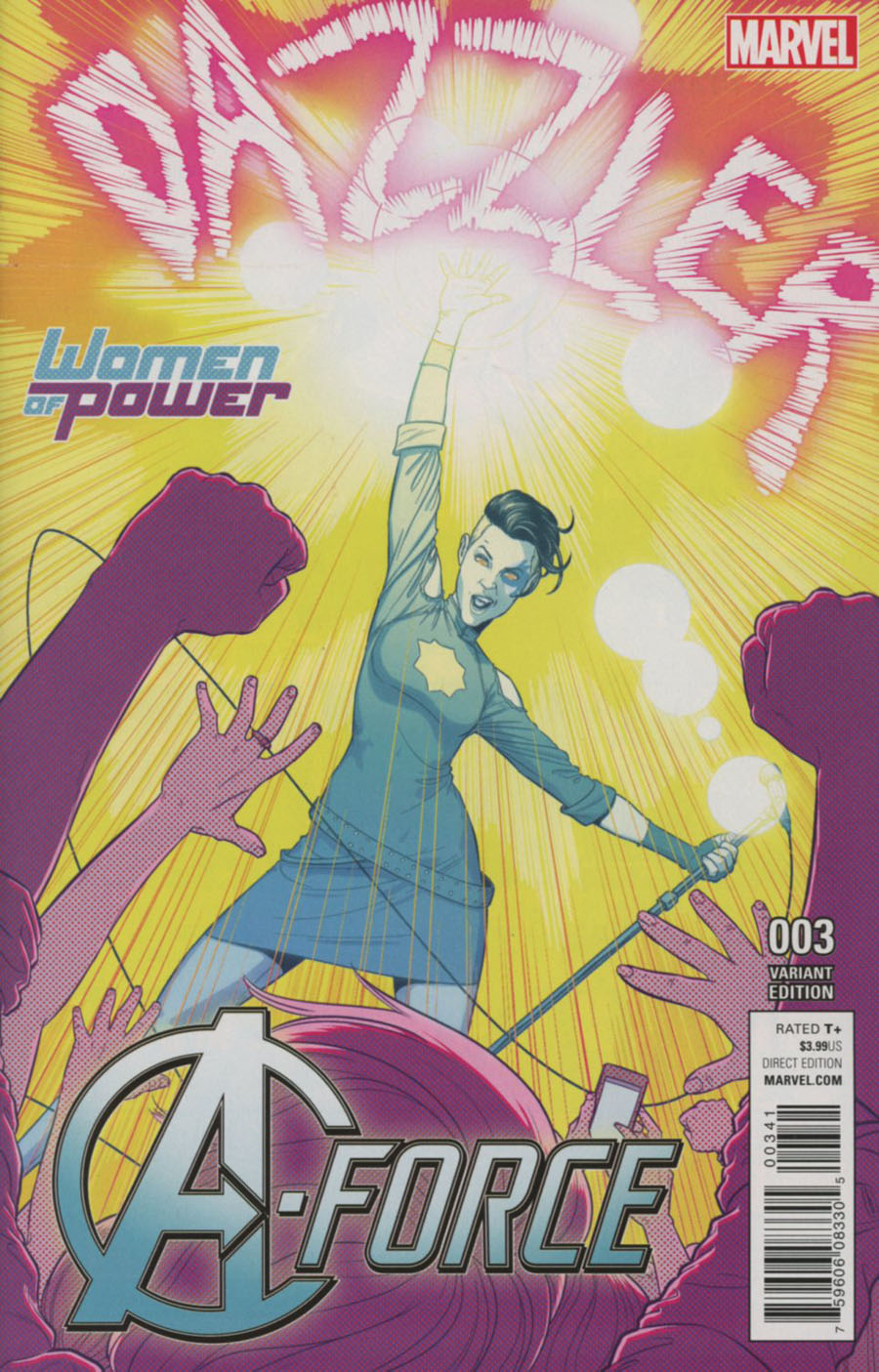 A-Force Vol 2 #3 Cover B Variant Jamie McKelvie Women Of Power Cover