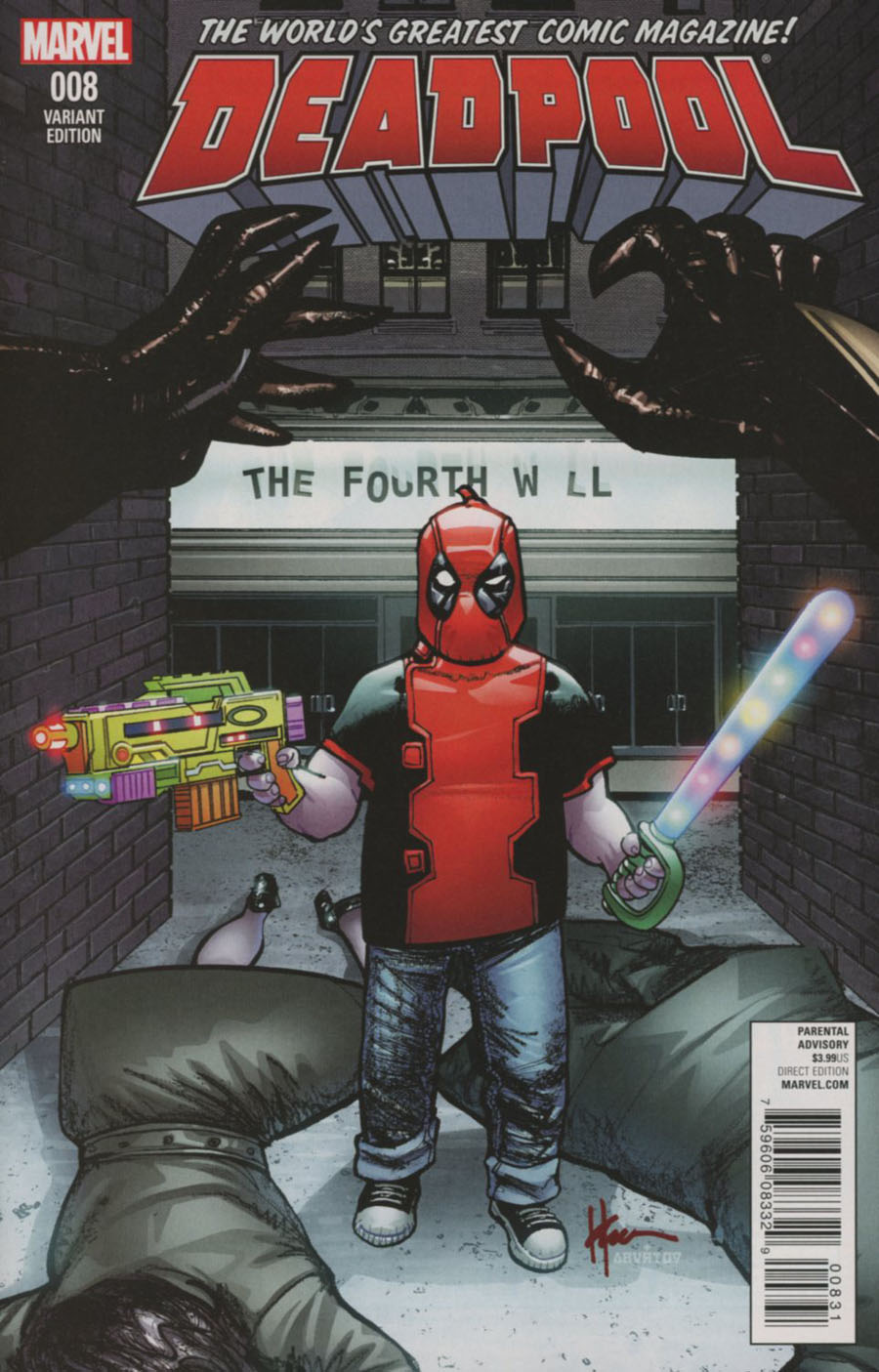 Deadpool Vol 5 #8 Cover E Incentive Howard Chaykin Classic Variant Cover