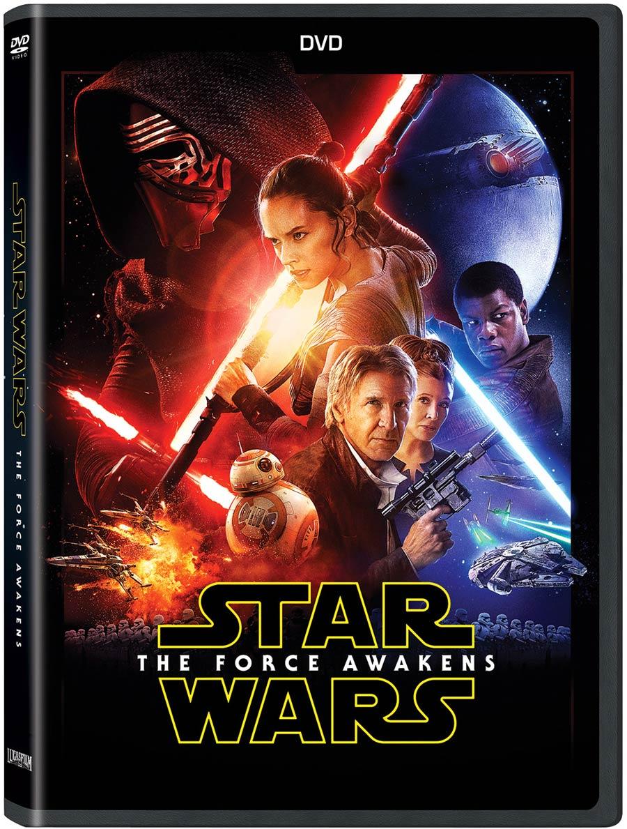Star Wars Epidode VII The Force Awakens DVD