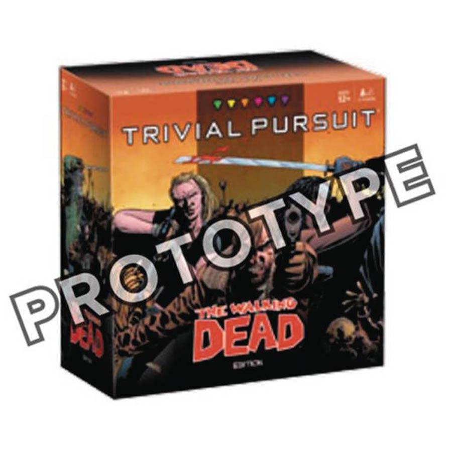 Trivial Pursuit Walking Dead Comic Edition