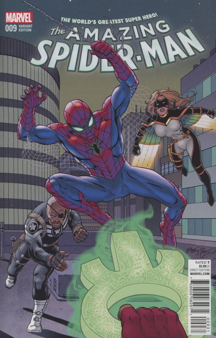 Amazing Spider-Man Vol 4 #9 Cover D Incentive Bob McLeod Classic Variant Cover