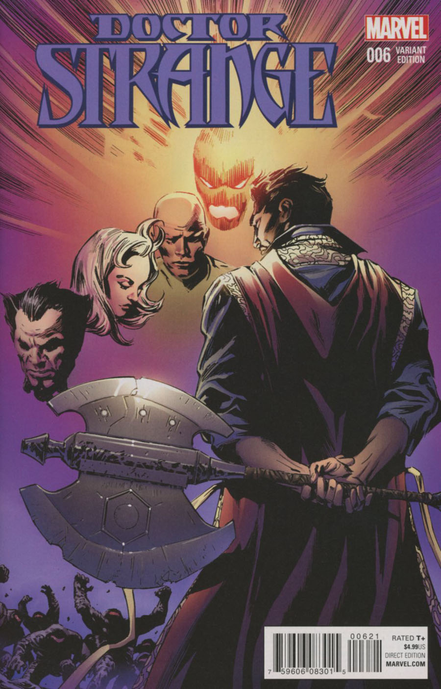 Doctor Strange Vol 4 #6 Cover C Incentive Butch Guice Classic Variant Cover