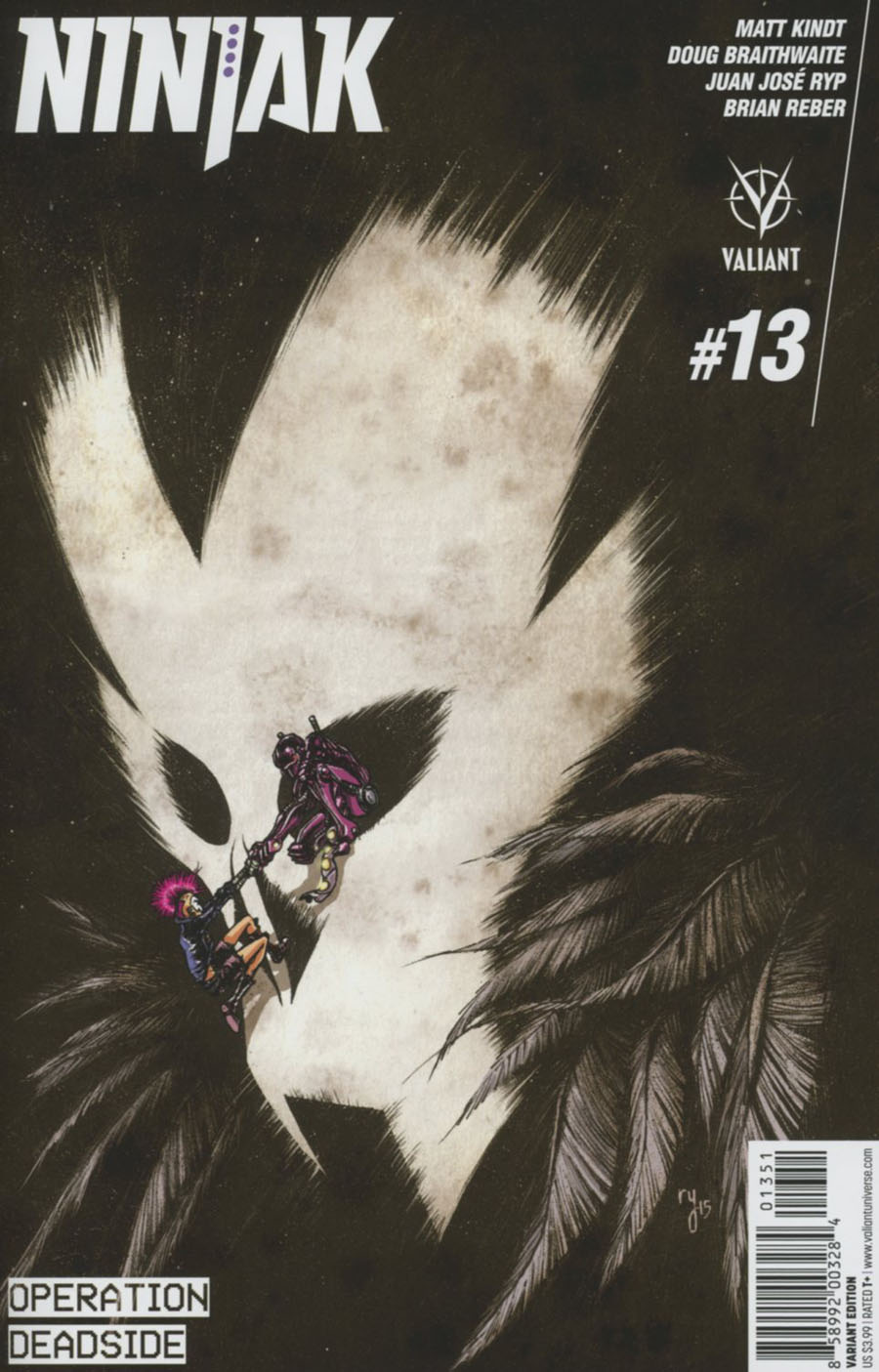 Ninjak Vol 3 #13 Cover E Incentive Ryan Lee Variant Cover