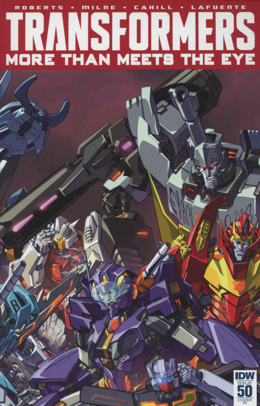 Transformers More Than Meets The Eye #50 Cover E Incentive Alex Milne Variant Cover