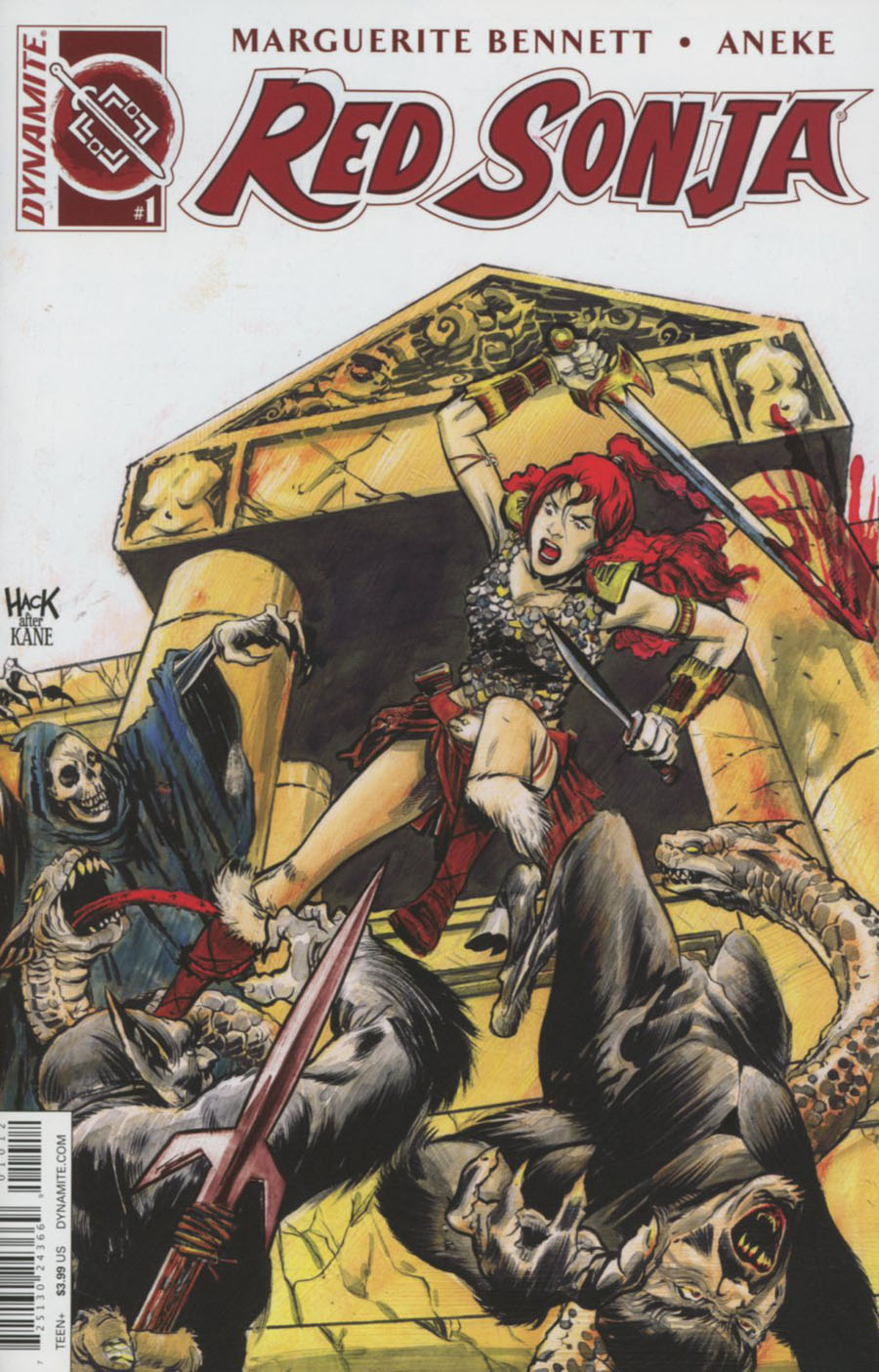 Red Sonja Vol 6 #1 Cover M 2nd Ptg Robert Hack Variant Cover