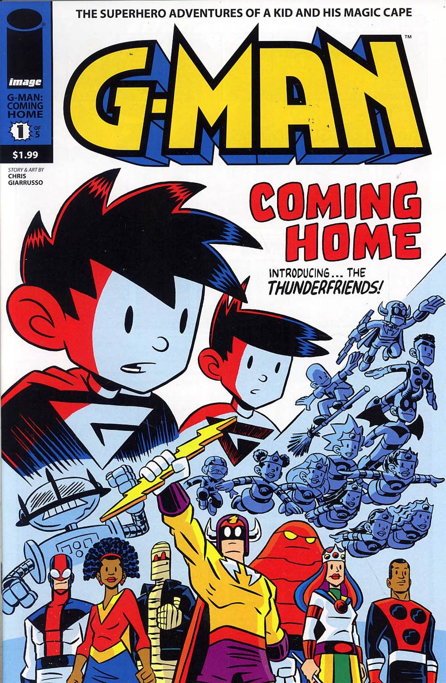 G-Man Coming Home #1 Cover A Regular cover
