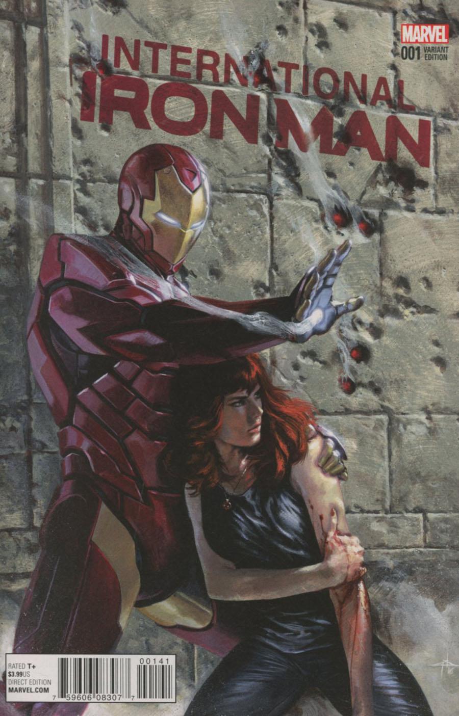 International Iron Man #1 Cover E Incentive Gabriele Dell Otto Variant Cover