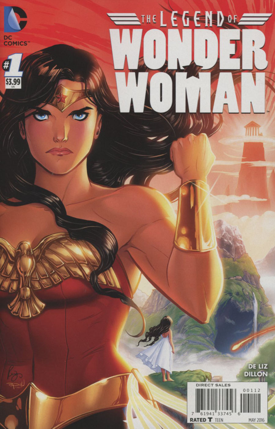 Legend Of Wonder Woman Vol 2 #1 Cover C 2nd Ptg Renae De Liz Variant Cover