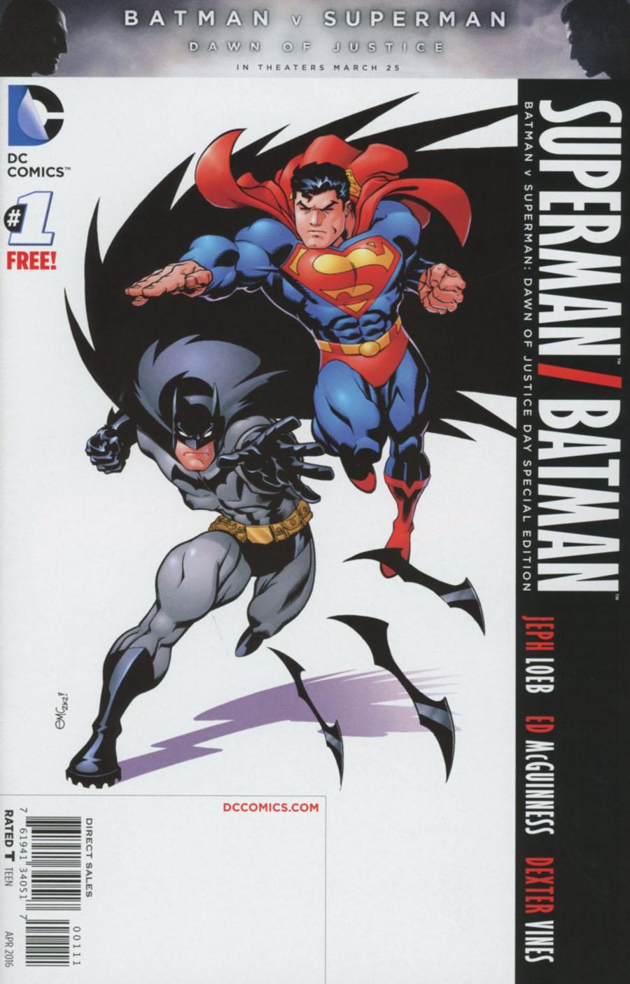 Superman Batman #1 Cover E Special Edition