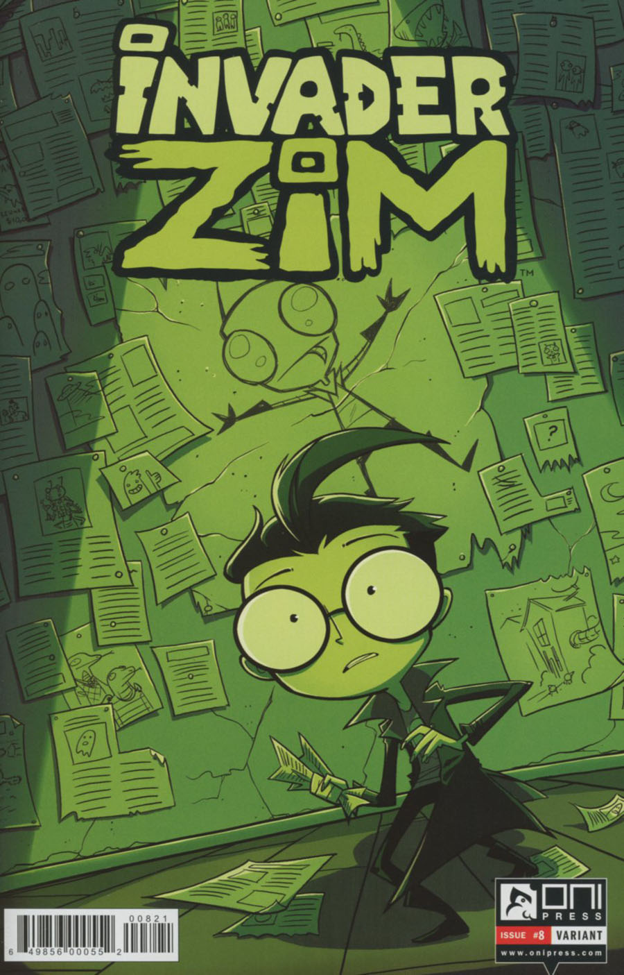Invader Zim #8 Cover B Variant Megan Lawton Cover