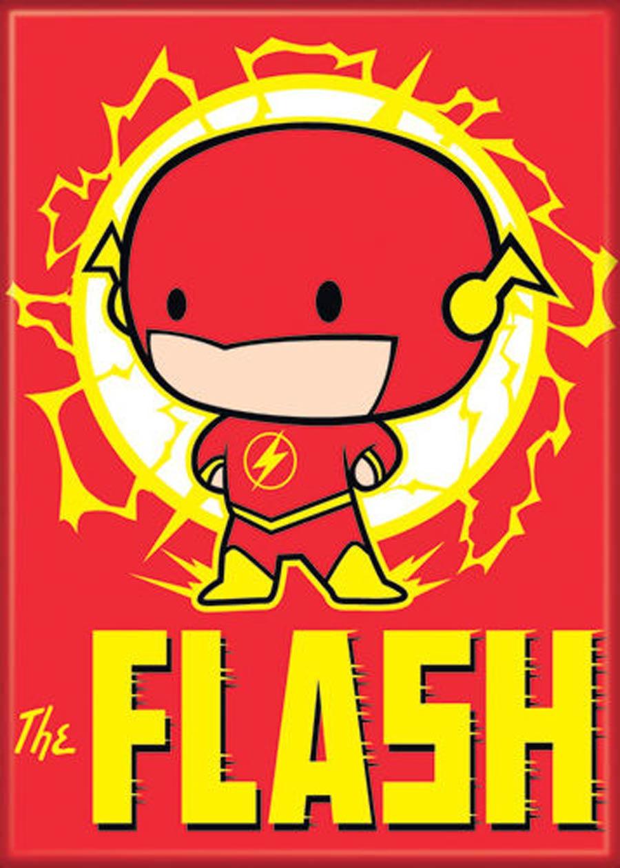 DC Comics 2.5x3.5-inch Magnet Chibi - Flash (72020DC)