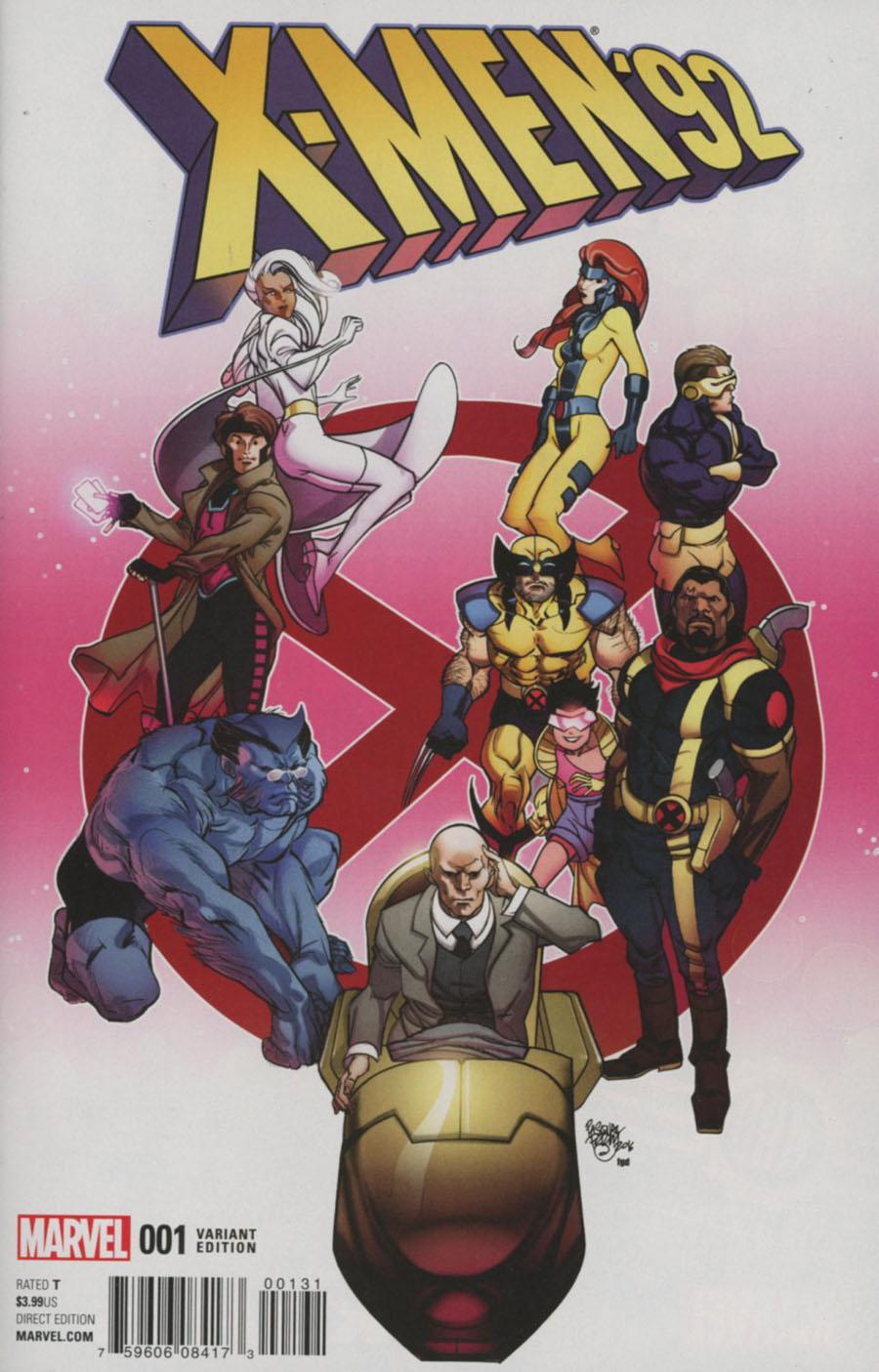 X-Men 92 Vol 2 #1 Cover D Incentive Variant Cover