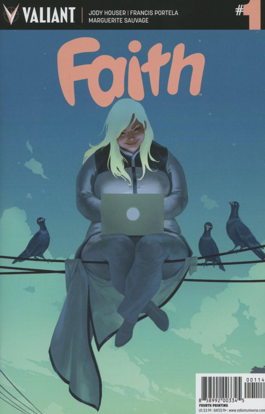 Faith (Valiant Entertainment) #1 Cover I 4th Ptg Jelena Kevic-Djurdjevic Variant Cover