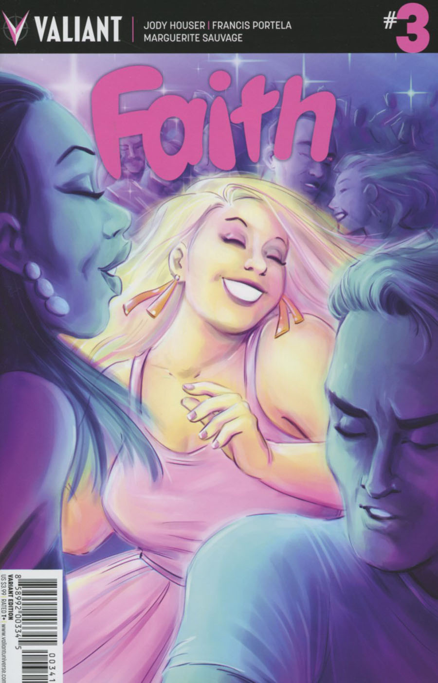 Faith (Valiant Entertainment) #3 Cover D Incentive Colleen Coover Variant Cover