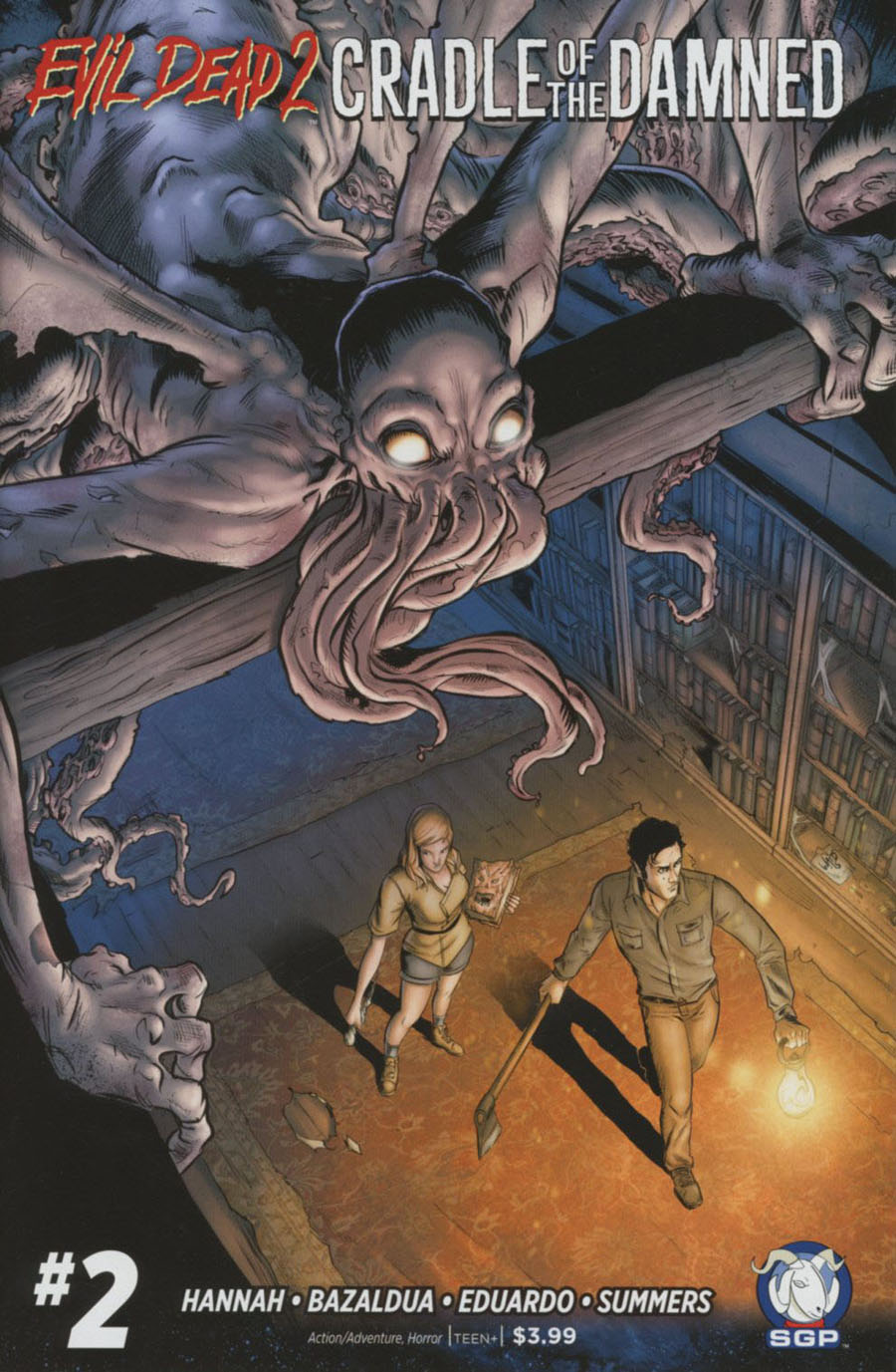 Evil Dead 2 Cradle Of The Damned #2 Cover A Regular Larry Watts Cover