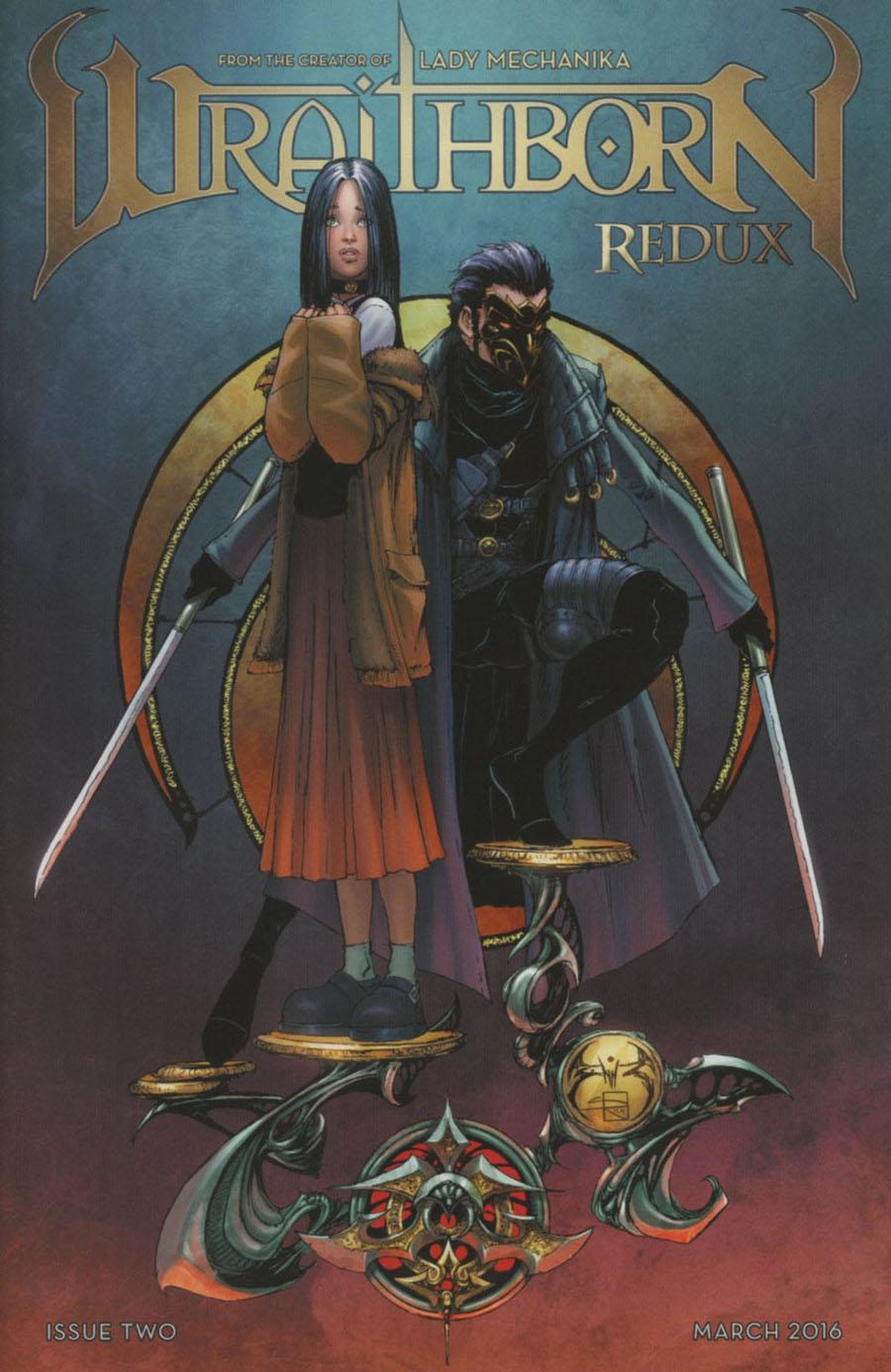 Wraithborn Redux #2 Cover A Regular Joe Benitez & Sabine Rich Cover