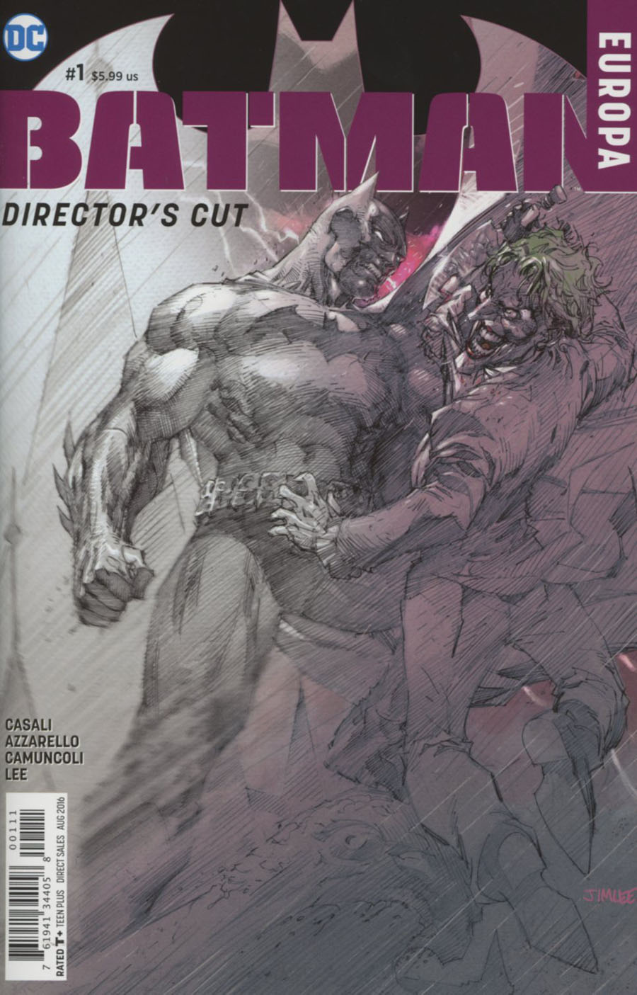 Batman Europa Directors Cut #1