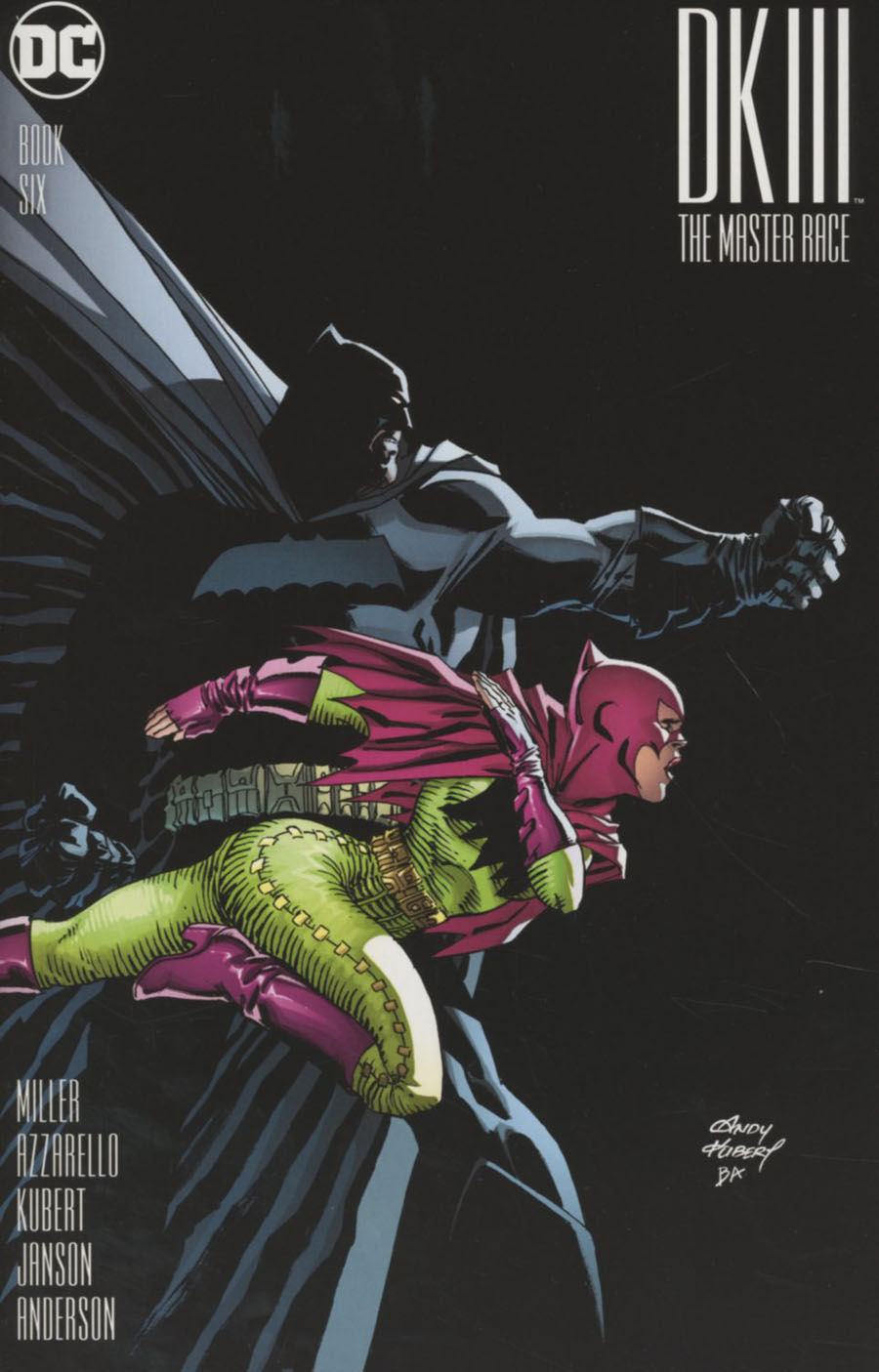 Dark Knight III The Master Race #6 Cover A Regular Andy Kubert Cover