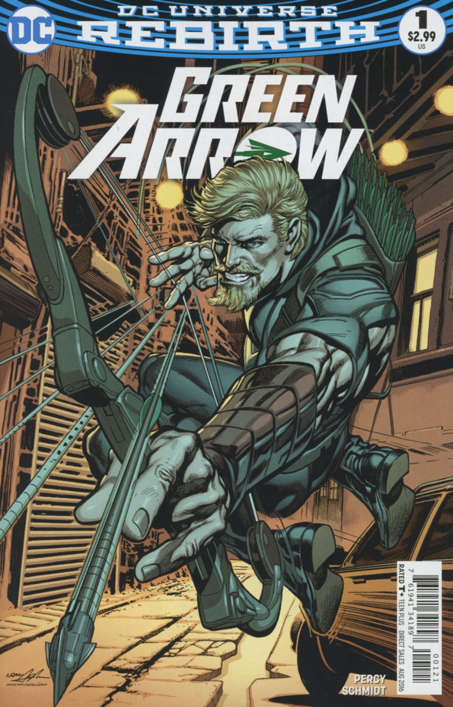 Green Arrow Vol 7 #1 Cover B Variant Neal Adams Cover