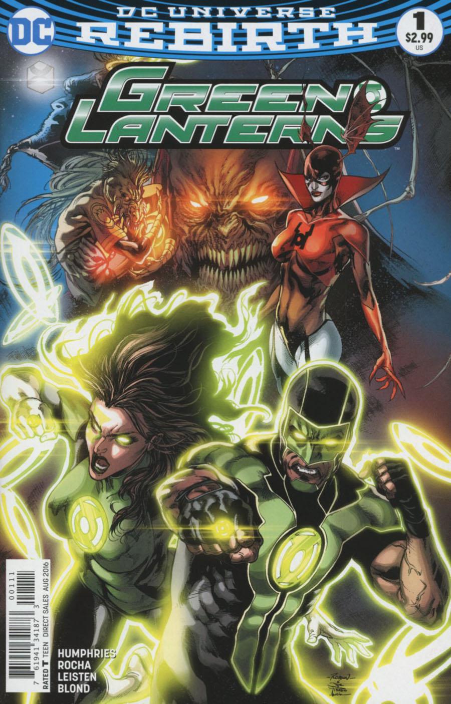 Green Lanterns #1 Cover A 1st Ptg Regular Robson Rocha & Joe Prado Cover