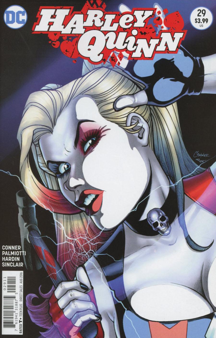 Harley Quinn Vol 2 #29 Cover A Regular Amanda Conner Cover
