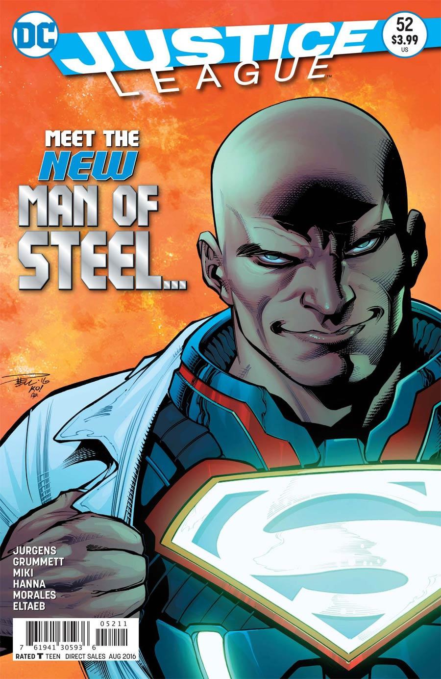 Justice League Vol 2 #52