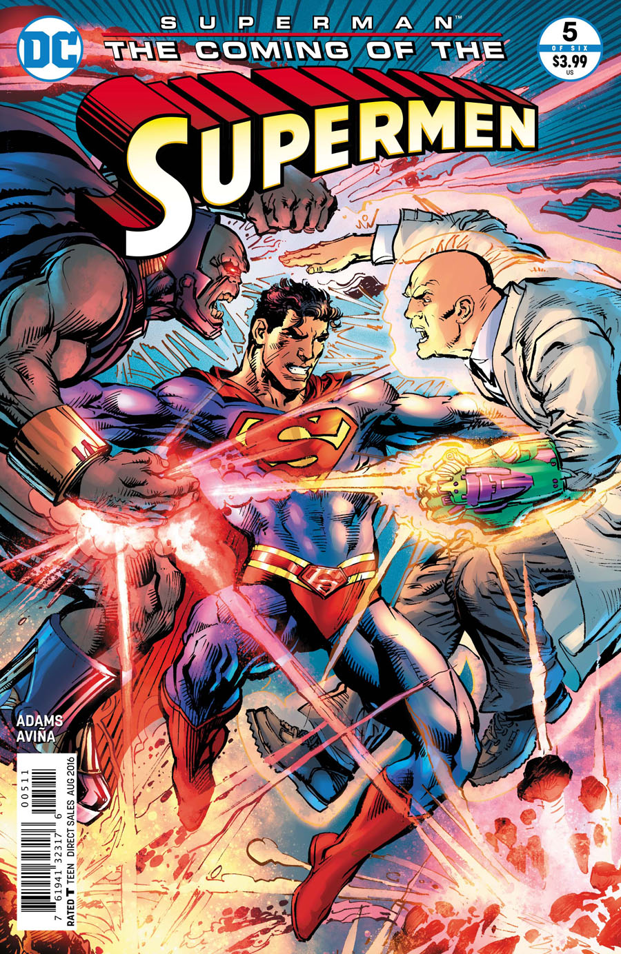 Superman The Coming Of The Supermen #5