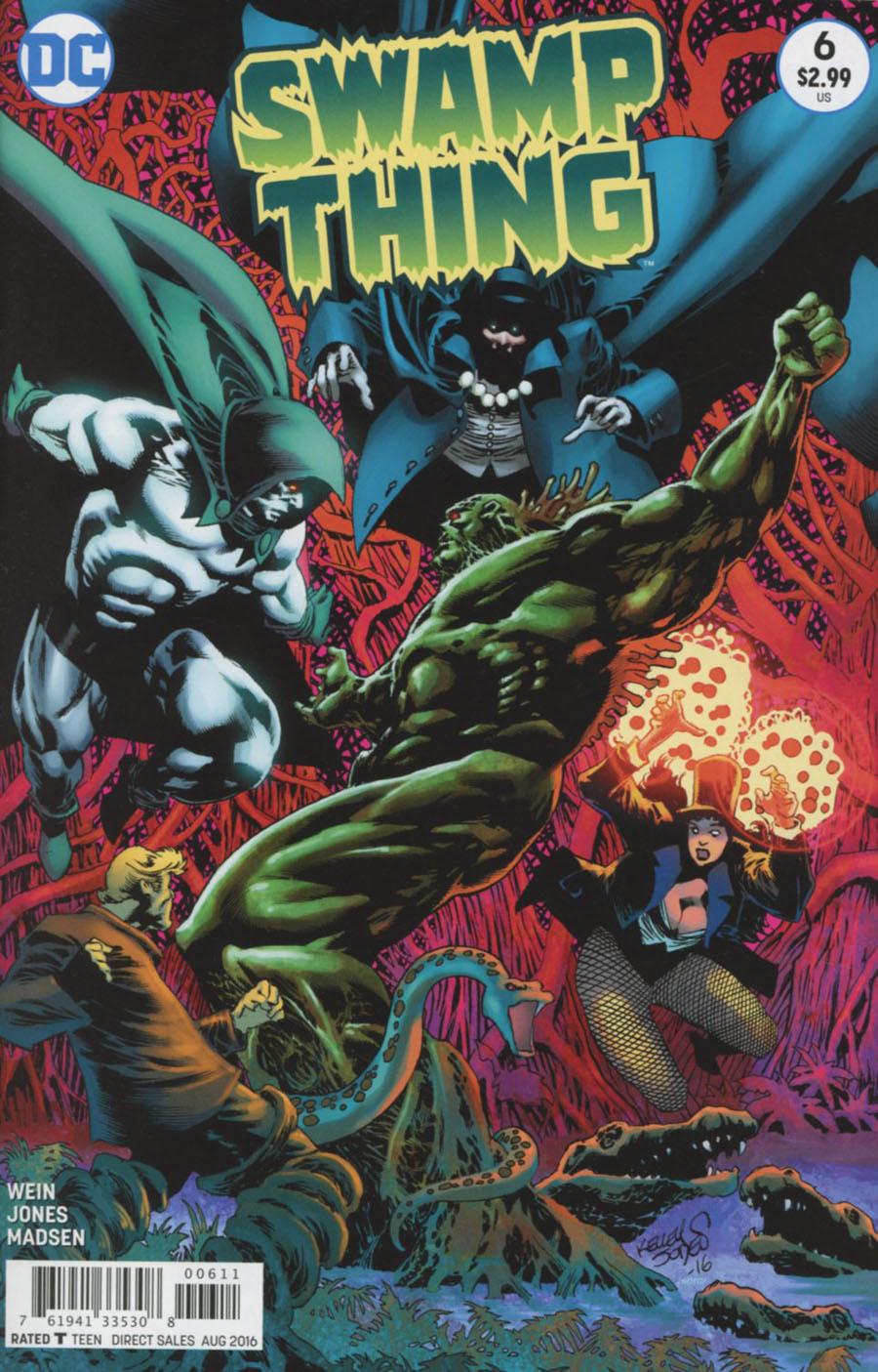 Swamp Thing Vol 6 #6