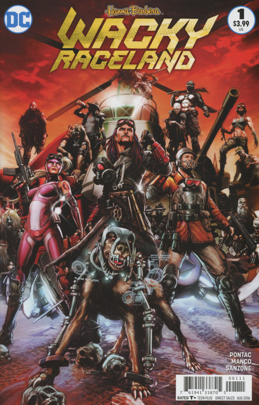 Wacky Raceland #1 Cover A Regular Leonardo Manco Cover