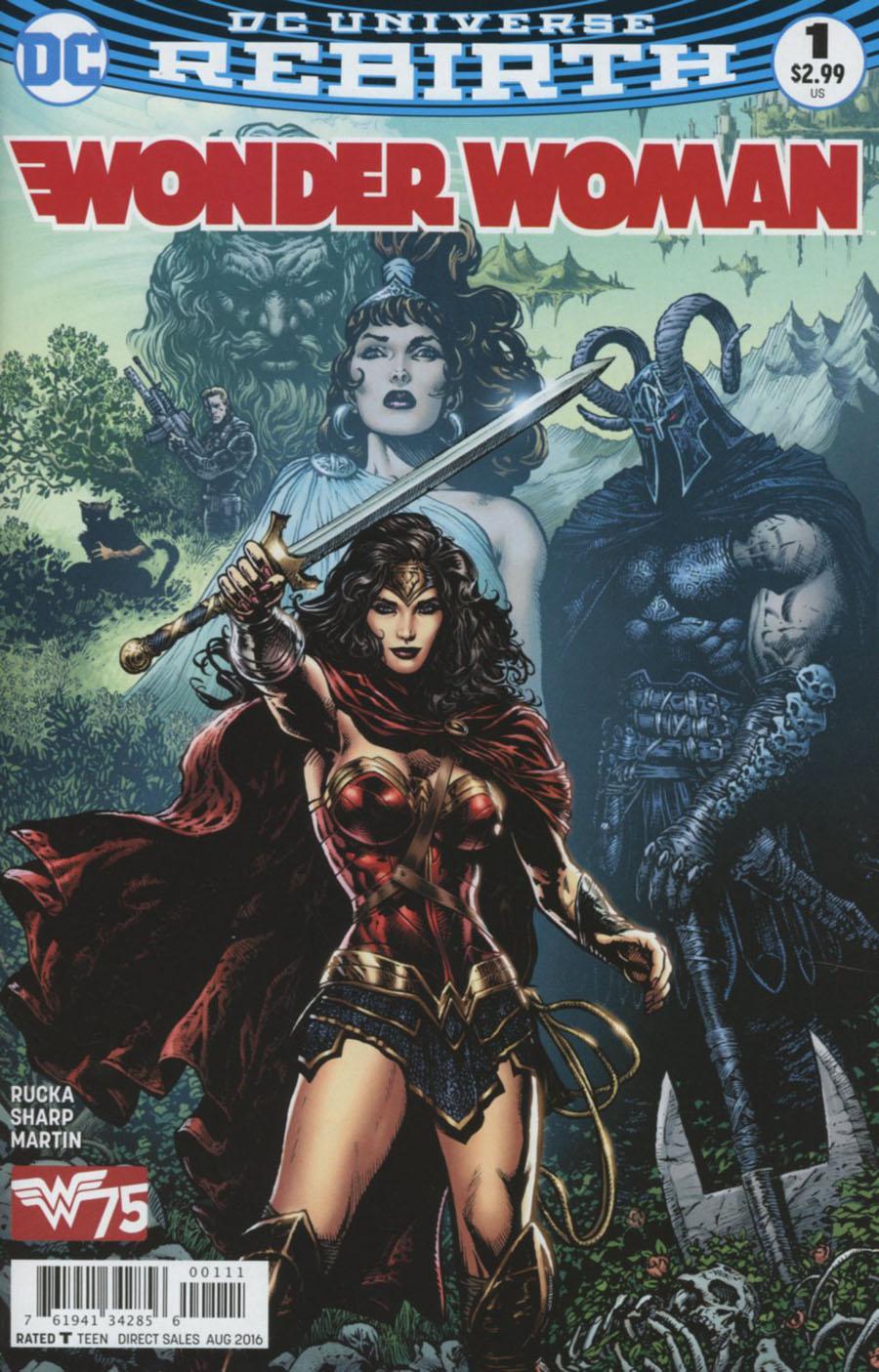 Wonder Woman Vol 5 #1 Cover A 1st Ptg Regular Liam Sharp Cover