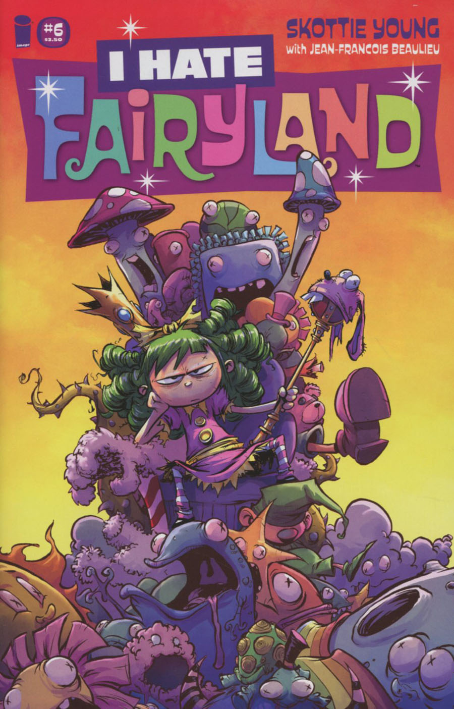 I Hate Fairyland #6 Cover A Regular Skottie Young Cover