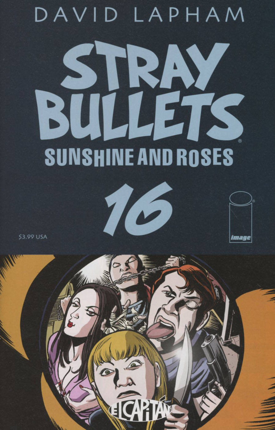 Stray Bullets Sunshine And Roses #16