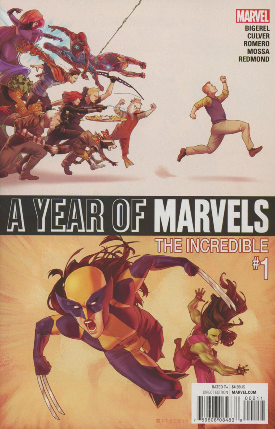 A Year Of Marvels The Incredible #1