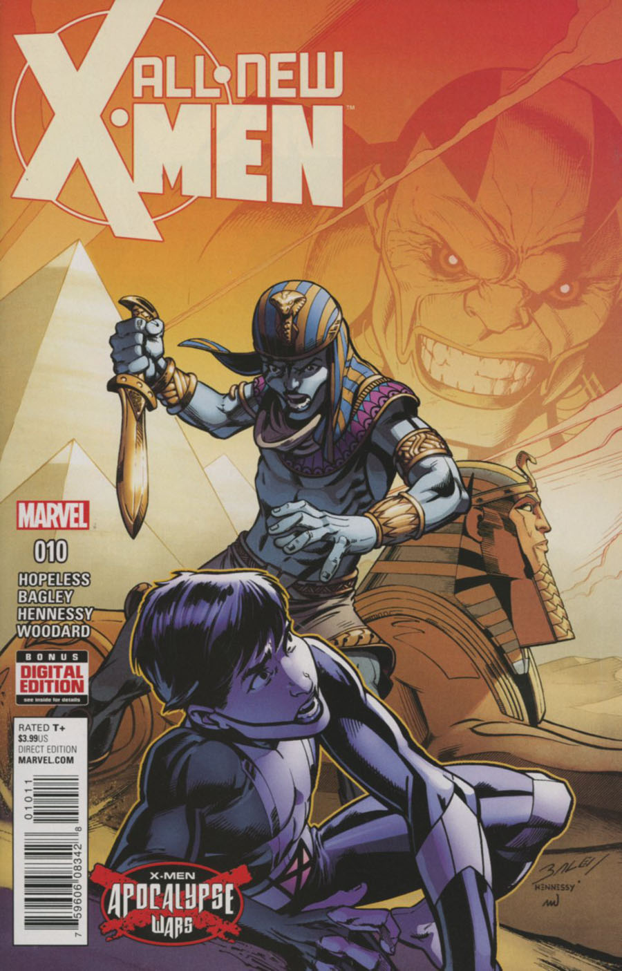 All-New X-Men Vol 2 #10 (X-Men Apocalypse Wars Tie-In)