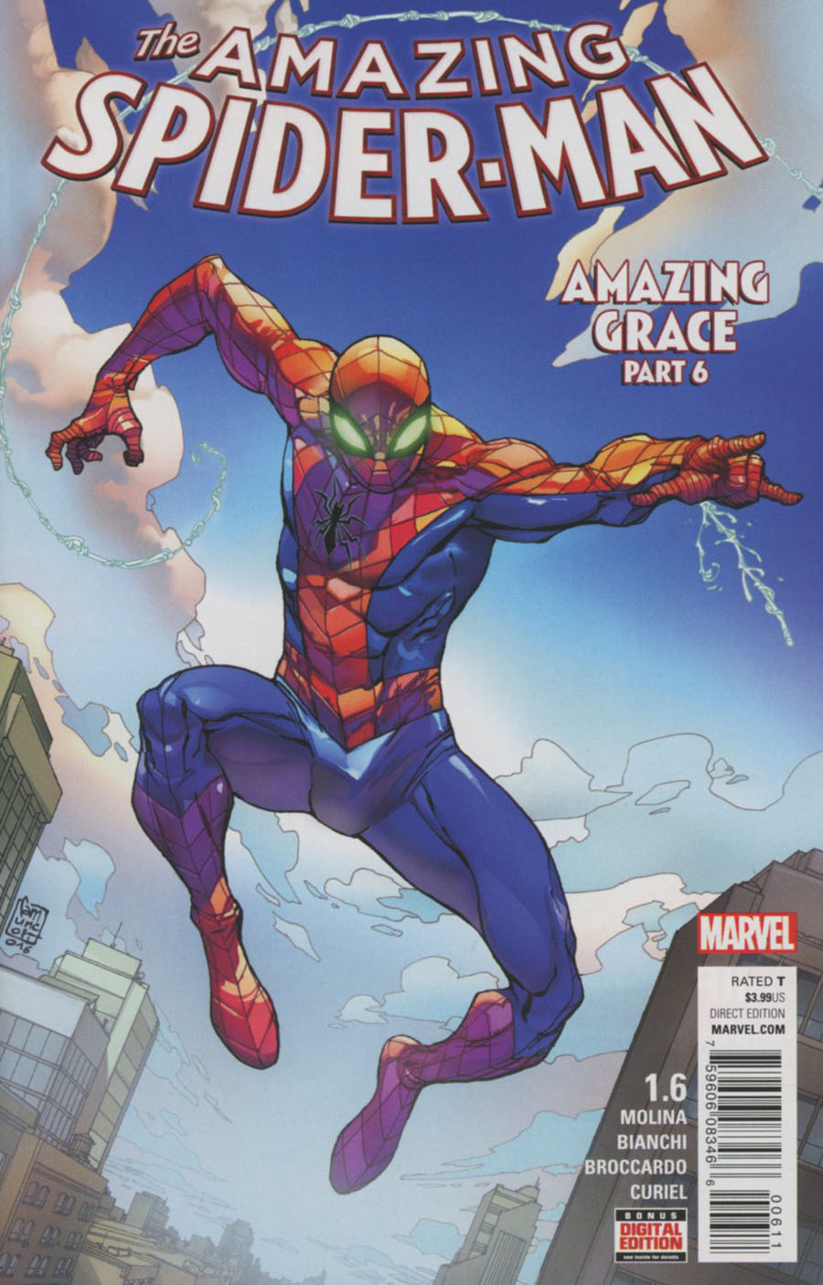 Amazing Spider-Man Vol 4 #1.6 Cover A Regular Giuseppe Camuncoli Cover