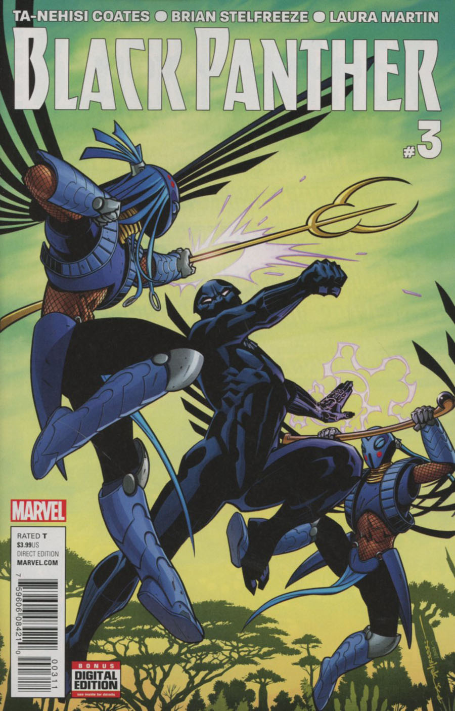 Black Panther Vol 6 #3 Cover A Regular Brian Stelfreeze Cover