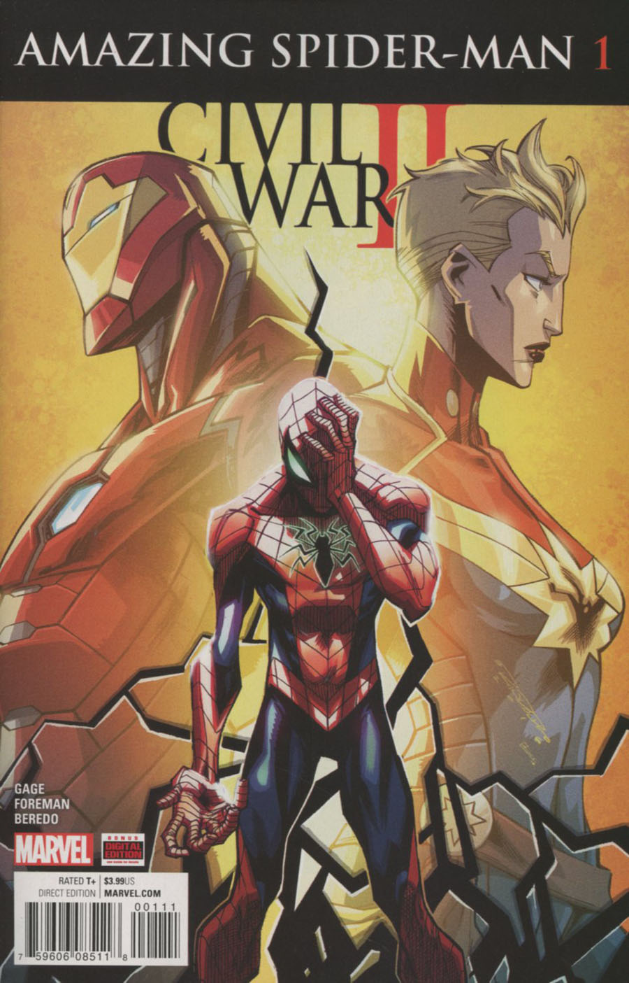 Civil War II Amazing Spider-Man #1 Cover A Regular Khary Randolph Cover