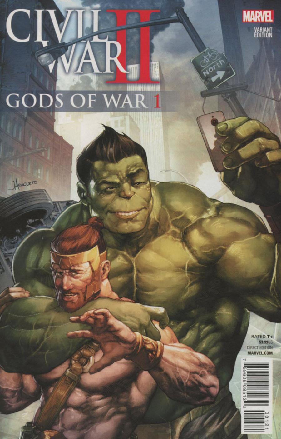 Civil War II Gods Of War #1 Cover B Variant Jay Anacleto Cover