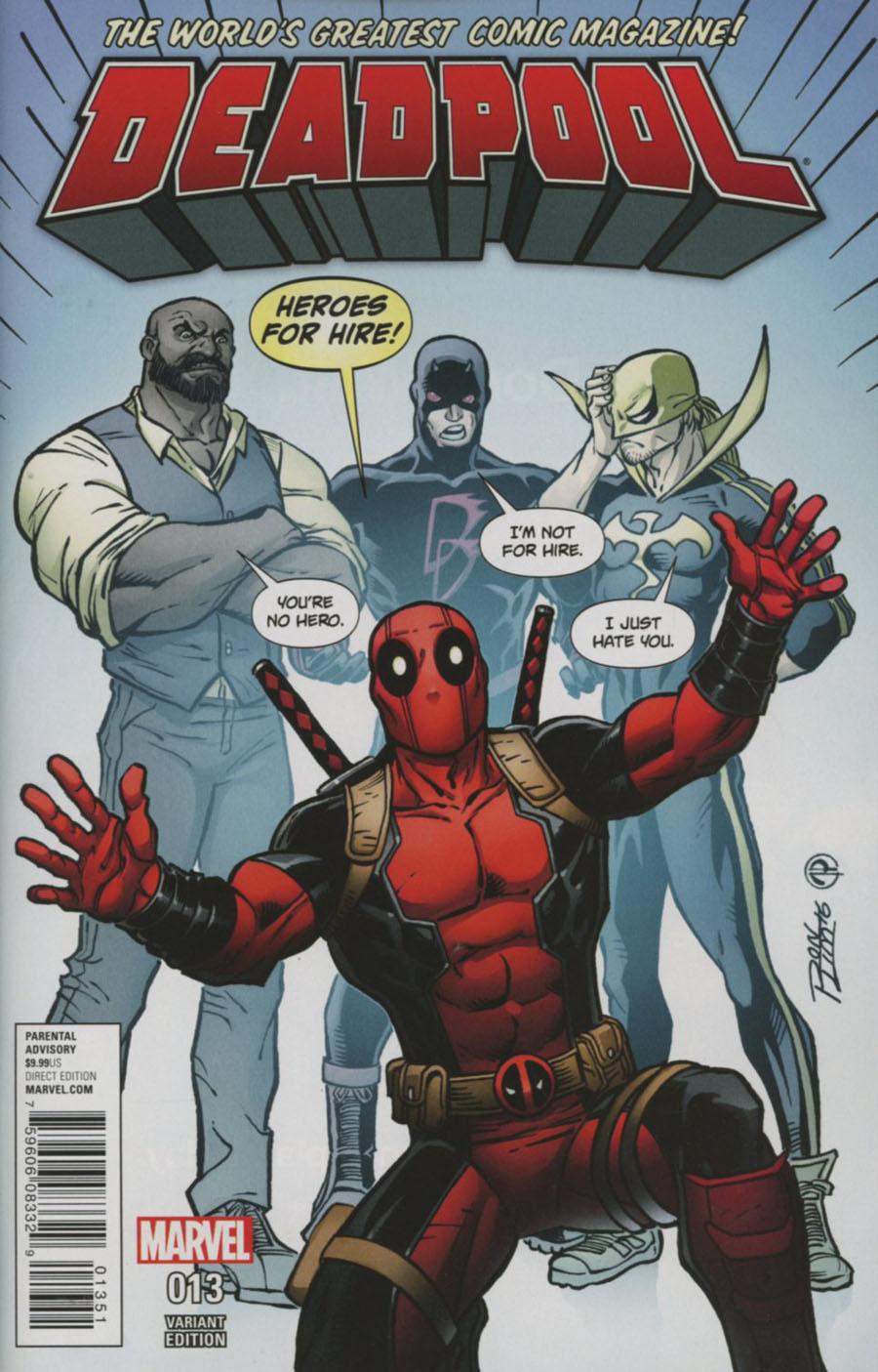 Deadpool Vol 5 #13 Cover C Variant Ron Lim Cover