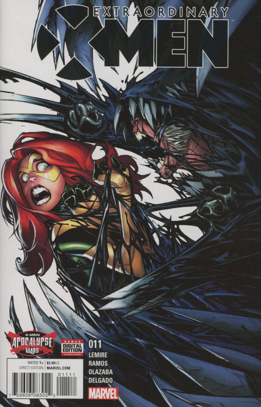 Extraordinary X-Men #11 (X-Men Apocalypse Wars Tie-In)